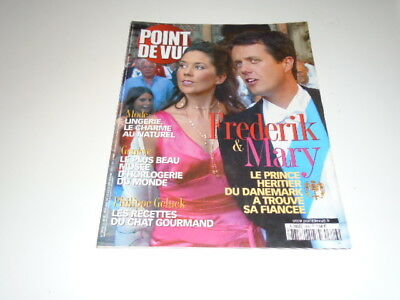 Point De Vue N°2826Le  Prince  Frederik & Mary  Du  Danemark De -   2002