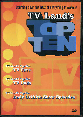 Tv Land's Top Ten (2005 Promo Dvd) Andy Griffith
