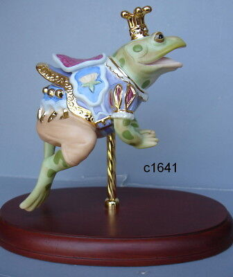 Lenox CAROUSEL HORSE FROG PRINCE NEW IN BOX