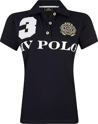 HV POLO Damen kurzarm Polo-Shirt Favouritas EQ SS Prints Stickereien div. Farben