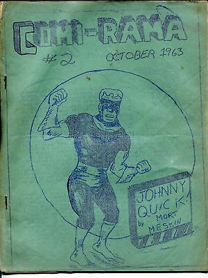 Comi-rama #2 1963-Johnny Quick-Jery Bails inspired-Super Chief-VG