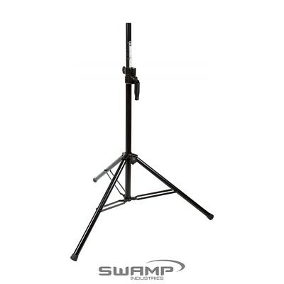 SWAMP Heavy Duty PA/DJ Adjustable Tripod Speaker Stand - Track Locking Winch