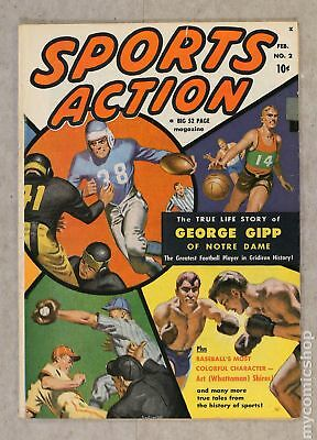 Sports Action #2 1950 GD/VG 3.0