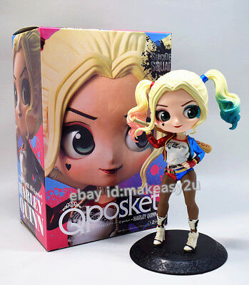 Qposket Suicide Squad Harley Quinn Ver. Action Figure 15CM Toy Doll New in Box