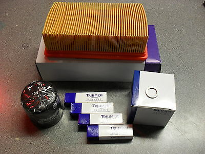 TRIUMPH TT600 / DAYTONA 600 / 650 SERVICE KIT with Filters GENUINE PARTS