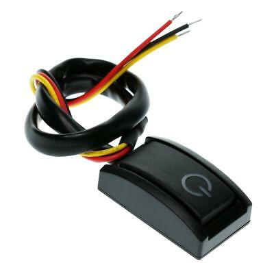New DC12V 200mA 2.4W Car Auto Vehicle On/Off Push Button Switch