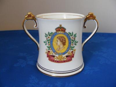 Radfords Queens Coronation Twin Handle Loving Cup-Very Good Condition!