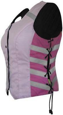 Missing Link Women's G2 D.O.C. Reversible Safety Vest Pink Small