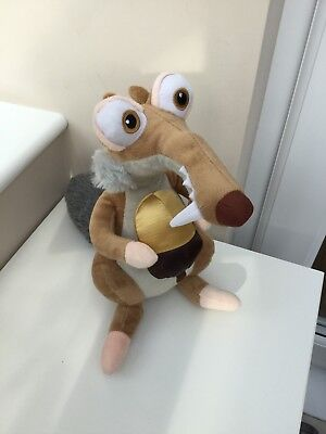 "Ice Age 5 Collison Course 11"" Scrat The Squirrel Plush Toy"