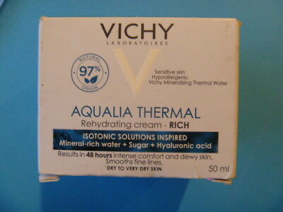 Vichy Aqualia Thermal Rich Hydration for Dry to Very Dry Sensitive Skin 50ml BN