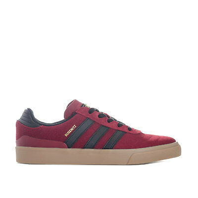 low priced e9b7a 01051 Mens adidas Originals Busenitz Vulc Trainers In Burgundy From Get The Label