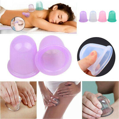 Large Size Vacuum Silicone Cup Anti Cellulite Cupping Massage Medical Full Body