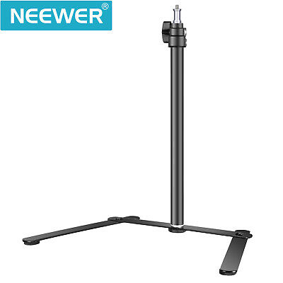 Neewer Studio Adjustable Tabletop Light Stand Base for LED Panel and Ring Light