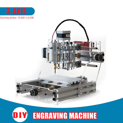 3 Axis Engraving Cutter CNC Carving Engraver Router Carved Carver Machine Tool