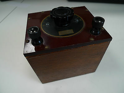 Resistance Box Muirhead Tenths of an Ohm Vintage Lab Apparatus Electronic