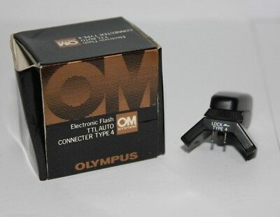 Genuine Olympus OM TTL Auto Connector Type 4 Excellent Boxed