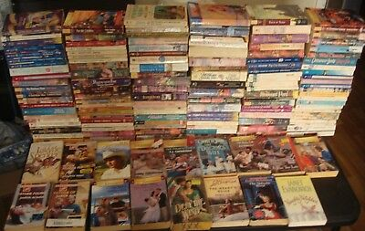 LARGE LOT 140 ADULT ROMANCE BOOKS HARLEQUIN SILHOUETTE used 46+ POUNDS PAPERBACK