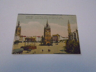 "Cp  Ancienne "" Courtrai ( Grand Place ,beffroi-St Martin Et  Poste  )  De 1931"