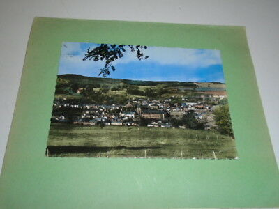 """Cp Ancienne  """" Stavelot  Panorama ( Avec Timbre  Orval )"""