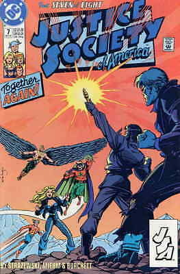Justice Society of America (Mini-Series) #7 FN; DC | save on shipping - details
