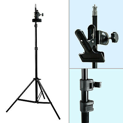 Photography Photo Studio Mount C-Clamp with Rubber Holder Clamp Light Stand