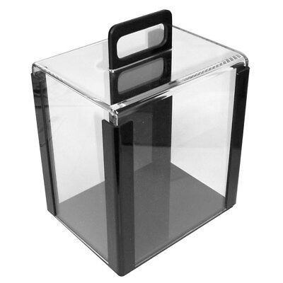 CAGE CARRIER, Holds 1000 Poker chips in 10 Trays, Clear