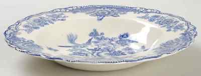 Crown Ducal BRISTOL BLUE Rimmed Soup Bowl 7101464