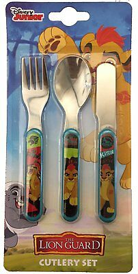 Disney The Lion Guard 3 piece metal cutlery set