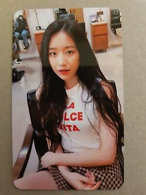 (G)-IDLE G-IDLE SHUHUA #1 Authentic Official PHOTOCARD 1st Album I am LATATA 슈화
