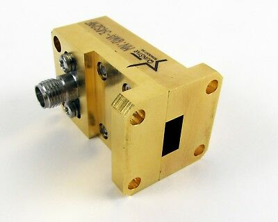 Quinstar QWA-34S29F Waveguide to 2.9mm (K) Adapter - WR-34, 22-33 GHz