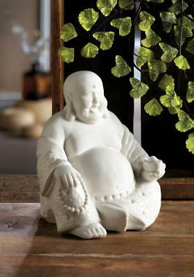 Happy Sitting Buddha Statue Figurine Whit Religious Lucky Big Fat Belly 10018254