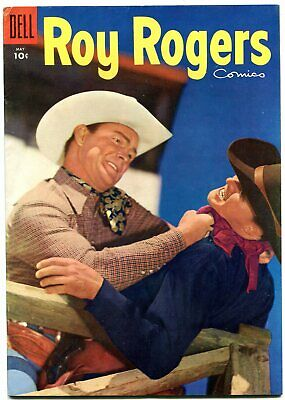 Roy Rogers #89 1955-Dell Golden Age Western- Nice VF-