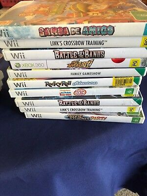 Clearance Sale - Wii Games Choose From Drop Down List