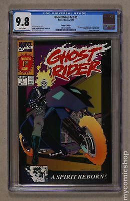 Ghost Rider (2nd Series) 1REP 1990 CGC 9.8 1473122018