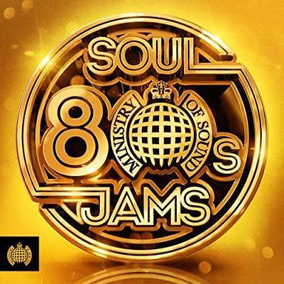 80s Soul Jams - Ministry Of Sound - Various (NEW 3CD)