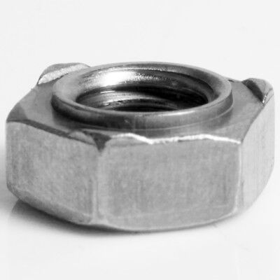 STAINLESS STEEL M6 WELD NUTS Silver A2 Hex/Hexagonal DIN 929 Metal Bolt Fastener