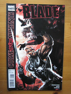 Blade  1 : One-Shot. Curse Of The Mutants. By Swierczynski & Green. Marvel. 2010
