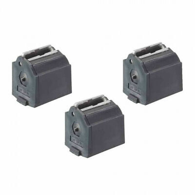 Ruger Mags Three  Rotary Magazine Fits 10/22 .22LR, 10 Rounds, Black 3 Pack
