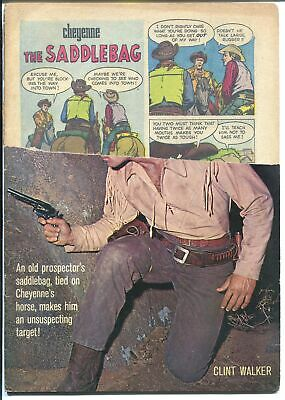Cheyenne #17 1960-Dell-Clint Walker photo cover-P
