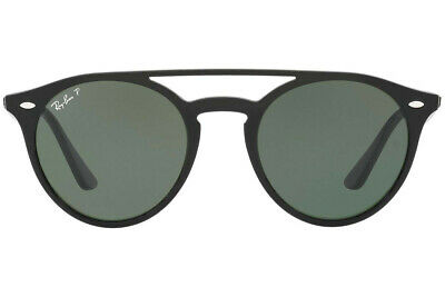 Ray-Ban RB4279 Double Bridge Sunglasses (Black/Polarized Green Classic G-15)