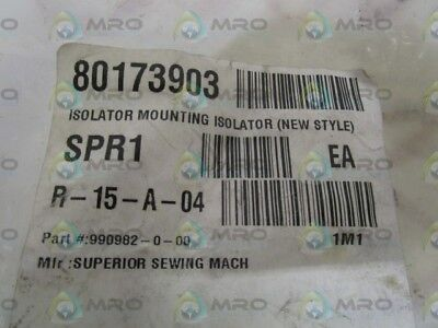 Lot Of 69 Superior Sewing Mach Isolator Mounting 990982-0-00 *new No Box*
