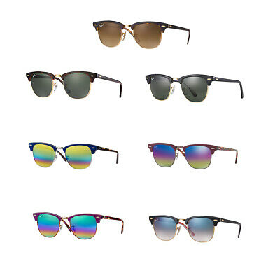 Ray-Ban RB3016 Clubmaster Classic Sunglasses - Choice of Color & Size