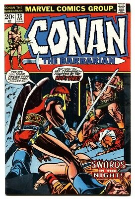CONAN THE BARBARIAN #23 1st Red Sonja  comic book 1973 MARVEL COMICS