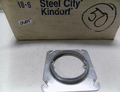 "Steel City 4"" Electrical Plate Cover"