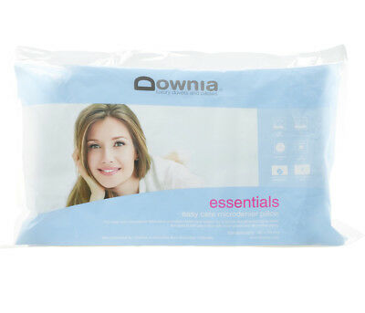 Downia Essentials Collection Standard Microfibre Pillow Cotton Casing NEW