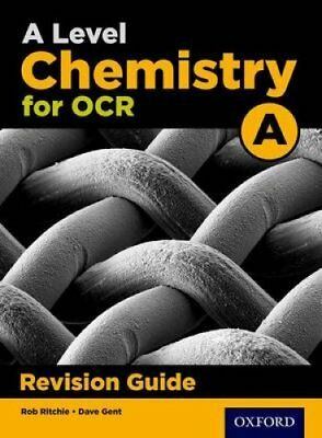 OCR A Level Chemistry A Revision Guide by Emma Poole, Rob Ritchie (Paperback,...