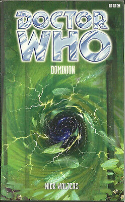 OOP Paperback Book - DOCTOR WHO - DOMINION - Nick Walters - BBC - 1999