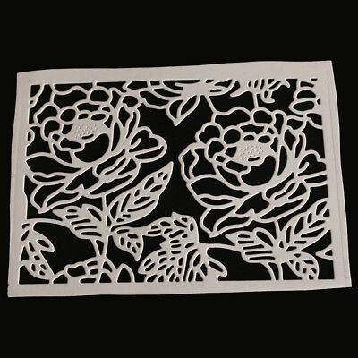 Flower Frame Cutting Dies Stencil DIY Embossing Scrapbooking Paper Card Craft