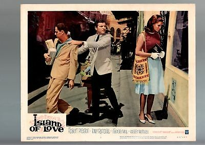 Island Of Love-Lobby Card-1963-#1-Robert Preston-Tony Randall Fn/vf