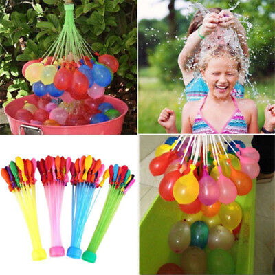 111pcs Fast Filled Water Balloons Bombs Kids Child Summer Garden Party Game Toys